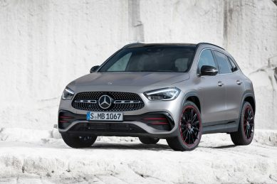 New Mercedes-Benz GLA revealed along with hot AMG GLA 35