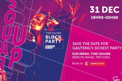 WIN tickets to a NYE block party!