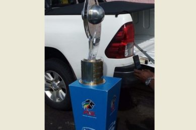 KZN police recover car with replica Telkom Knockout cup and tickets