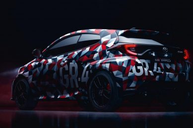 Toyota Yaris GR-4 teased once more as launch is penned-in for January