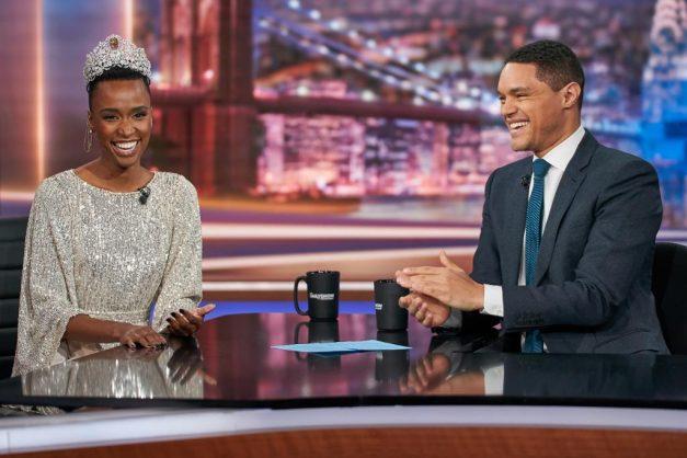 Trevor Noah interviews Zozibini Tunzi on 'The Daily Show'