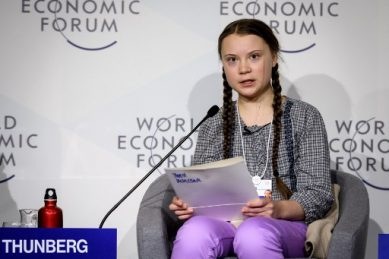 Thunberg, Trump to offer competing visions at climate-focused Davos