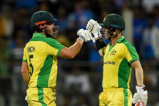 Record-breaking Warner and Finch help Australia pummel India