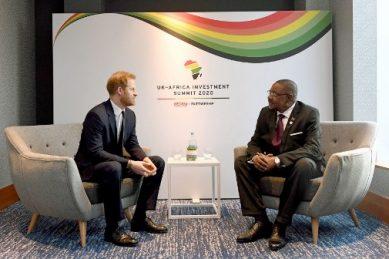 Prince Harry focuses on Africa after 'sadness' of royal split