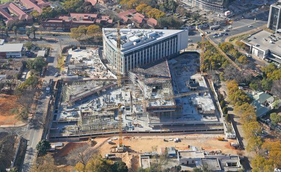 Rosebank and Waterfall surpass Sandton in office construction activity