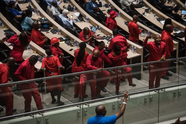 DA questions EFF-ANC alliance after Thursday's chaotic meeting