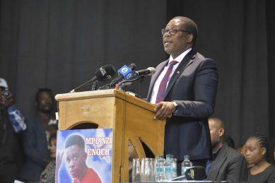 Parktown Boys' High won't be shut down – Lesufi at Enock Mpianzi memorial