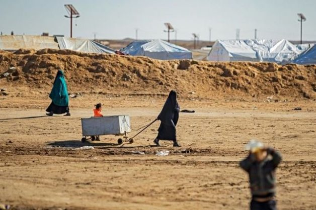 Kurdish authorities move 21 orphans out of Syria camp