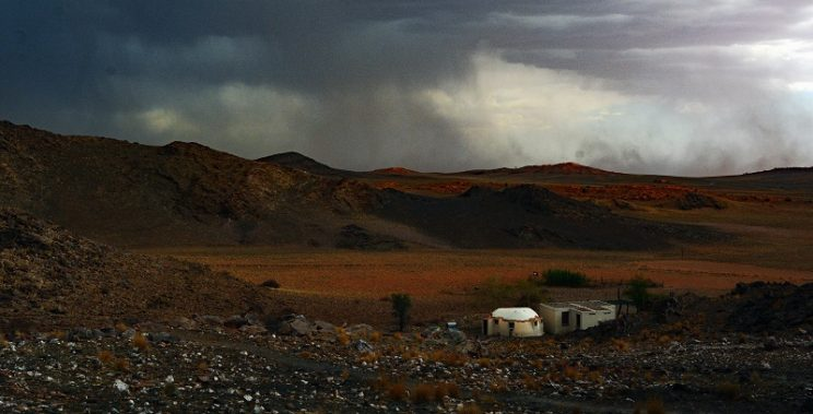 Namibia – where dense clouds are a rare vision of hope
