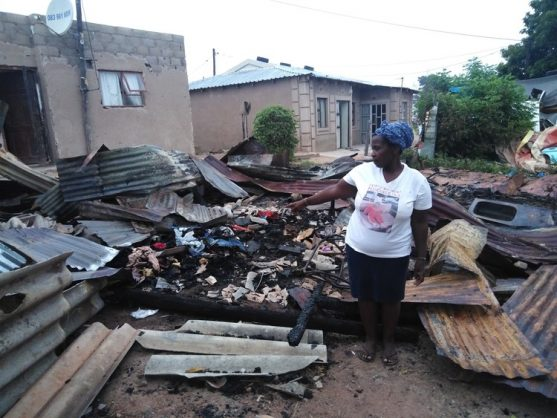 Neighbour saves children from burning shack in Durban