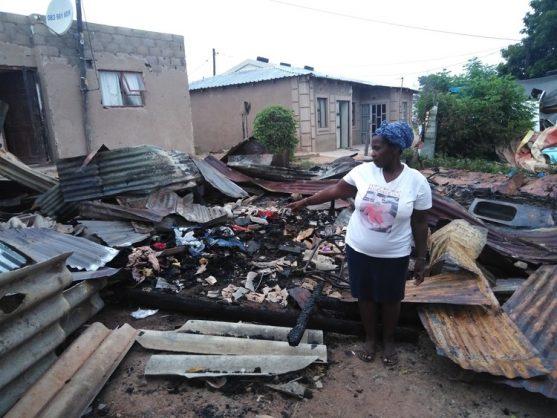 Neighbour saves children from burning shack in Durban