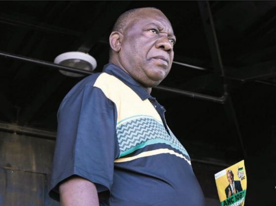 Calm down, the state of SA isn't Ramaphosa's fault
