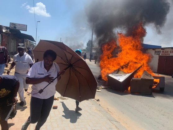 WATCH: Diepsloot protest reaches boiling point