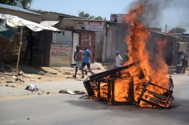 Diepsloot protests against foreign nationals
