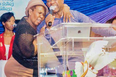 Gospel star Benjamin Dube mourns the death of his mother, Pastor Grace Dube