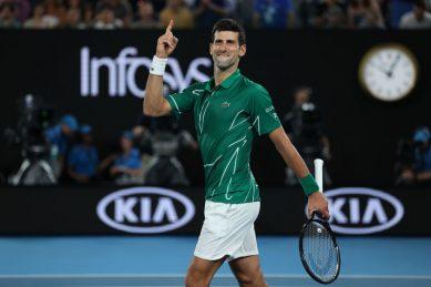 Djokovic powers past Federer into Australian Open final