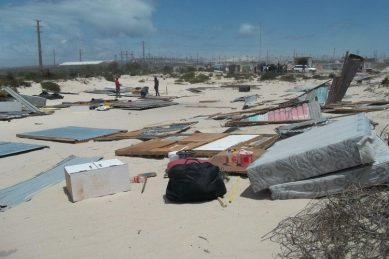 City of Cape Town refuses to say how many shacks it demolished this weekend