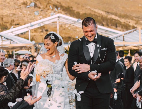 PICS: Demi-Leigh Nel-Peters and Tim Tebow are officially married