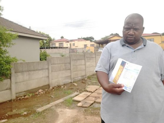 Taxi driver told he owes NMB municipality R68K for water