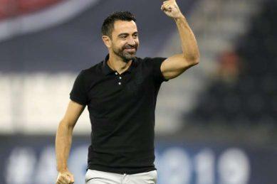 Xavi wants 'total harmony' to return to Barcelona as coach