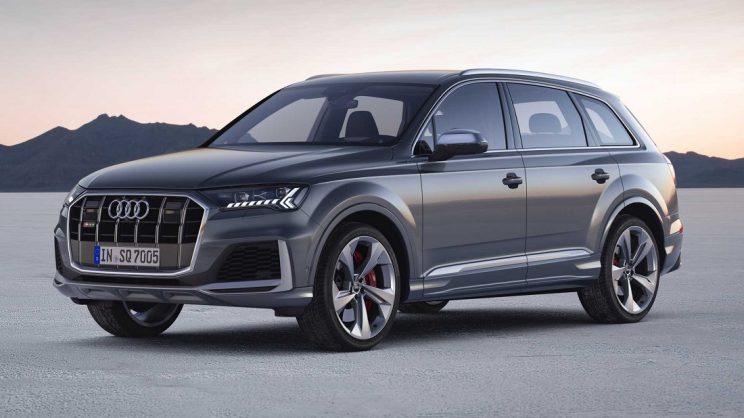 Audi SQ7 and SQ8 receive petrol boost
