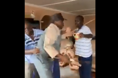 WATCH: Alfred Nzo mayor in scuffle with family