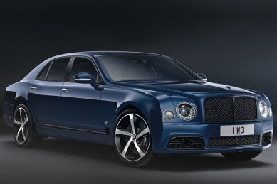 Bentley farewells legendary V8 engine with ultra-luxurious special edition Mulsanne