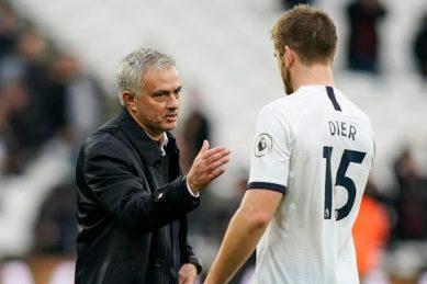 Dier denies negative vibes at Spurs under Mourinho