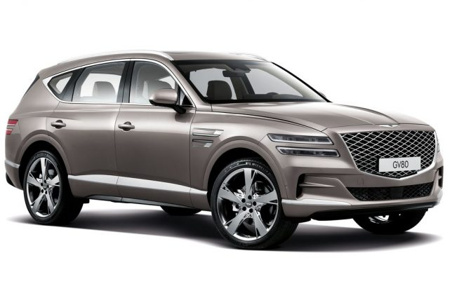 Genesis GV80's new six-cylinder diesel engine possible for global Hyundai pick-up?