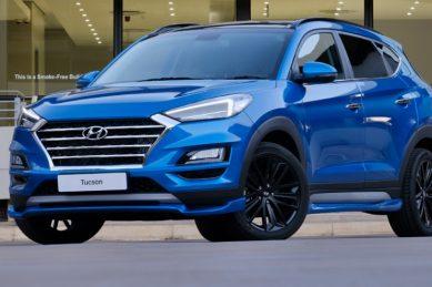 Petrol-fuelled Hyundai Tucson Sport kicks hard