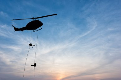 WATCH: Man rescued by military helicopter after falling down KwaZulu-Natal cliff