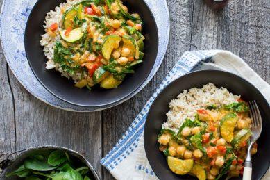 Recipe: Vegan coconut chickpea curry