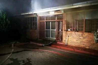 Fire breaks out at Gauteng school hours before first day of school