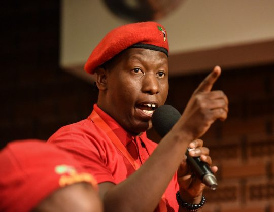 EFF students command threatens to shut down higher education institutions which 'only favour whites'