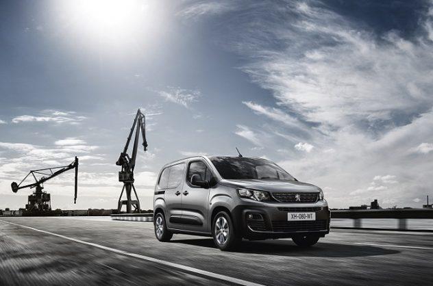 Peugeot's new commercial Partner revealed