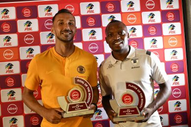 Mosimane, Motupa and Nurkovic claim PSL monthly awards