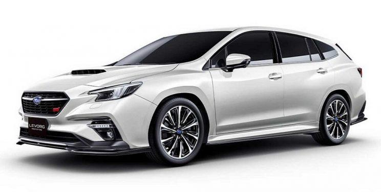 Prototype Subaru Levorg gets serious in Tokyo