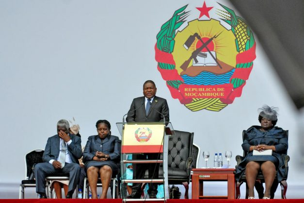 Mozambique president says gas wealth to benefit all