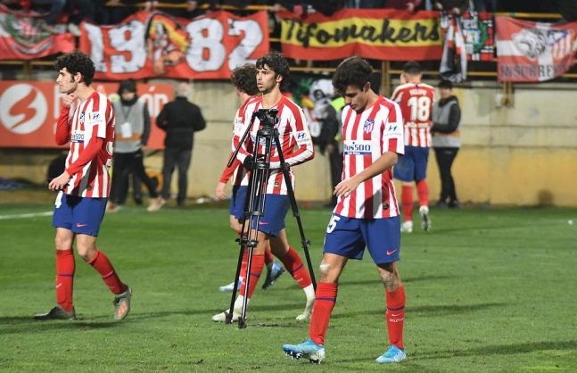 Atletico suffer extra-time Cup misery at third-division Leonesa