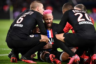 Another PSG player tests positive for coronavirus