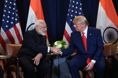 Howzat! Record crowd expected for Trump at India cricket ground