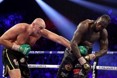 Fury batters Wilder in TKO heavyweight triumph