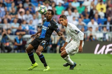 Percy Tau substituted – Club Brugge 1 Manchester United 1 – Full Time