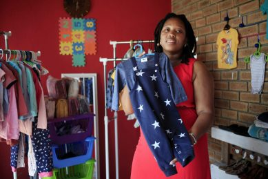 Mom opens the first baby essentials store in Khayelitsha