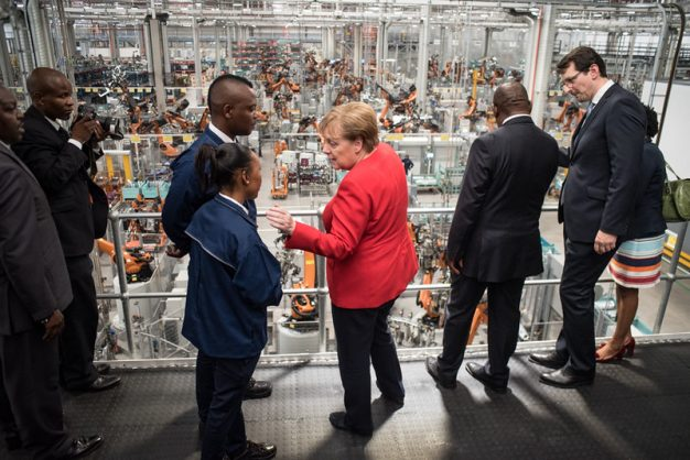 Merkel offers to help SA switch to renewables