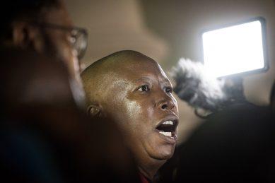 EFF brings the House down during Sona debate