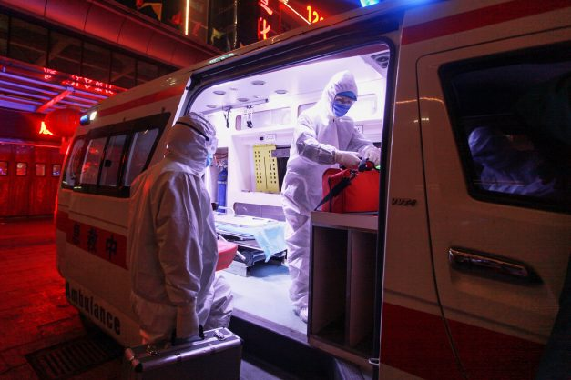 China says six health workers have died from coronavirus, 1,716 infected