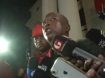 Mlangeni was no background boy, says Malema while calling out institutionalised corruption