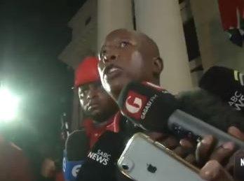 Mlangeni was no background boy, says Malema while calling out institutionalised corruption