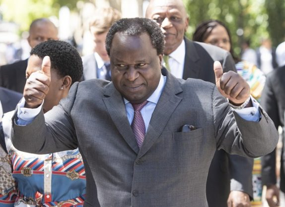 Tito Mboweni – finance minister, self-taught cook and now Amapiano musician?
